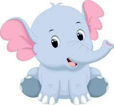 cute elephant clipart.  Clipart Cute Baby Elephant Cartoon On Elephant Clipart Y