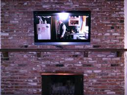 mount tv on brick fireplace amp plasma mounted over brick fireplace wall mount tv on