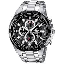 casio edifice ef 539d 1avef black stainless steel chronograph casio edifice ef 539d 1avef