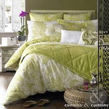 elizabeth hurley persian lime green duvet cover