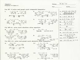 solving quadratic equations factoring worksheet answers 9 2 skills gallery image
