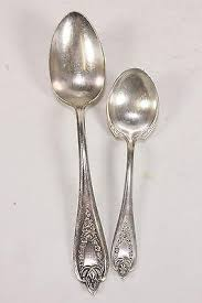 1847 Rogers Bros Patterns Classy Old Colony Pattern 48 Rogers Bros Silver Plate Serving Spoon