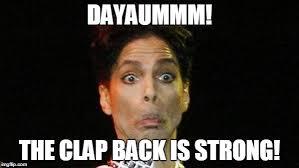 Image result for clapback