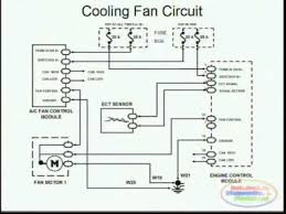 cooling fans & wiring diagram youtube 3.8 Taurus Fan Wire Color at 1995 Taurus Fan Relay Wiring Diagram