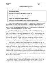 green essay alfred green speech analysis ap language exam sample 2 pages the chrysalids essay