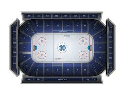 Penn State Ice Hockey Arena Seating Chart Penn State Hockey At Notre Dame Hockey At Compton Ice Arena