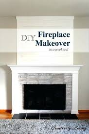 diy fireplace mantel fireplace makeover in one weekend under fireplaces mantels painting wall decor diy fireplace diy fireplace mantel