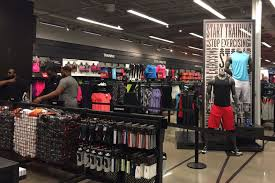 nike outlet store. stop by for peek at nike\u0027s new digs. nike outlet store