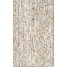 braided leona jute off white 5 ft x 8 ft area rug