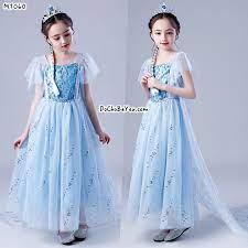 Đầm công chúa elsa cho bé gái 3-4-5-6-7-8-9 tuổi – DoChoBeYeu.com