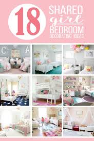 Ladies Bedroom Decorating 18 Shared Girl Bedroom Decorating Ideas Via Make It And Love It