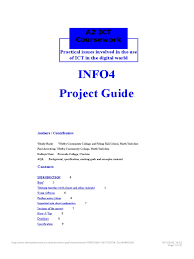 ICT Coursework Final Document
