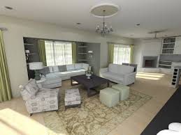 Home Interiors:Family Basement Finishing Project Designed Cozy Family Room  in Basement Ideas