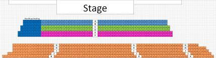 Venues Seating Charts San Angelo Symphony