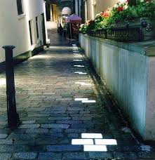 lighting from the ground. especially if they are solar poweredfrom inground paver lights london light design street lighting walkway from the ground