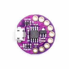 <b>LilyTiny Lilypad</b> ATtiny85 <b>Development Board</b> Module Micro USB for ...
