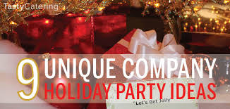 If you are looking for unique corporate holiday party themes, here are nine  very different ideas that will get your group into the holiday spirit.