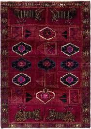 purple persian rug dark