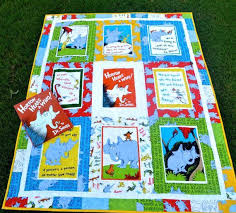 Dr Seuss Quilt Kit Dr Seuss Baby Quilts Dr Seuss Baby Or Toddler ... & Dr Seuss Quilt Kit Dr Seuss Baby Quilts Dr Seuss Baby Or Toddler Quilt  Horton Hears Adamdwight.com