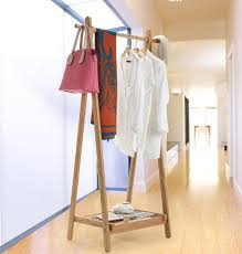 Design Coat Rack Modern Design Bamboo Bedroom Living Room Coat Rack Display Stands 60