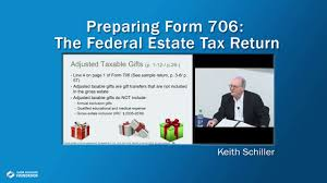 form preparing the federal estate tax return you irs extension gst s
