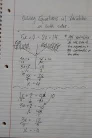 multi step equations and inequalities fresh notes columbia high school