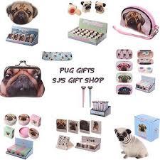 pug gift ideas bag makeup purse solar backpack bookmark mug xmas birthday gifts