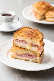 Turkey Ham Leftover Recipes Monte Cristo Ham Cheese French Toast Sandwich Recipetin Eats