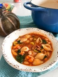 winter minestrone soup recipe diaries