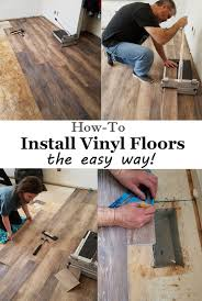 installing vinyl floors no underlayment and no power tools needed easy diy