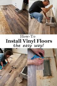 installing vinyl floors no underlayment and no power tools needed easy diy