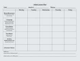 Creative Curriculum Preschool Lesson Plan Template For Templates ...