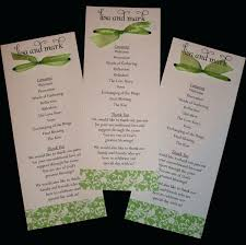 Template Samples Of Wedding Programs Template Invitation Wording
