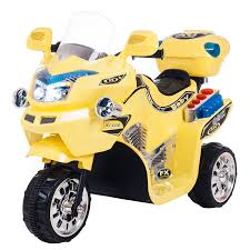 ride on toy 3 wheel motorcycle for kids battery powered ride on toy by lil rider ride on toys for boys and s 2 5 year old yellow fx walmart