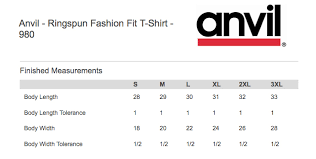 Anvil T Shirts Size Chart Team Ketchup T Shirt Unisex From Nomad Local
