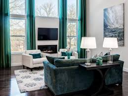 Turquoise Living Room Furniture Living Room Turquoise And Brown Living Room Brown Curtains