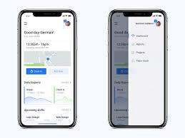 Time Tracker Employee App By Herman Hubanov Dribbble Dribbble