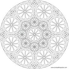 Mandala Color Pages Mandala Coloring Pages For Adults Citrus To
