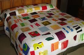 My Marimekko scrap quilt &  Adamdwight.com