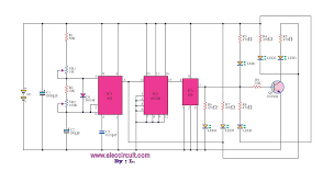 simulate the traffic light circuit electronic projects circuits simulate the traffic light circuit