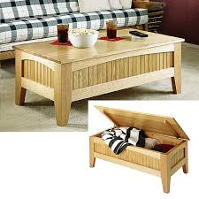 fouton coffee table mission style