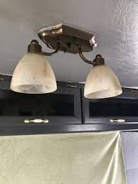 Rv Wall Light Fixtures Rv Led Lights Replacement Tutorial For The Home Rv Led