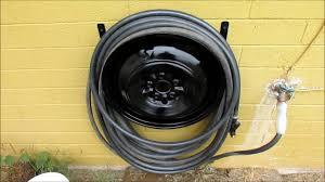 s metal hose reel