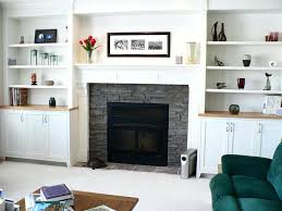 gray stone fireplace stone fireplace renovation