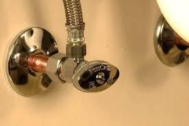 sink water shut off valve kitchen sink water shut off valve leaking