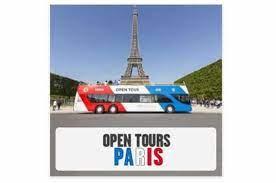 ticket bus open tour paris à tarif