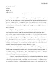 self reliance and ingroup emerson self reliance myers ingroup 6 pages hmxp essay 3 rought draft
