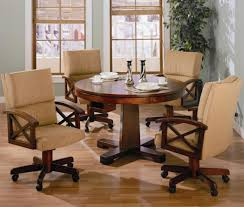 Dining Room Chairs With Casters And Arms Dining Room Sets Caster Dining Room Hero Shot Alt Toward Porch