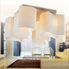 modern cheap lighting. modern style 4light glass flush mount cheap ceiling lights lighting m