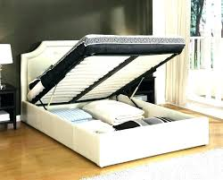 Bed Frame With Drawers Full Wood Bed With Drawers Underneath Bed ...